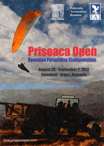 Romanian paragliding championships 2012