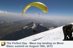 The Perfect Day – Mass top landing on Mont-Blanc – náhľad